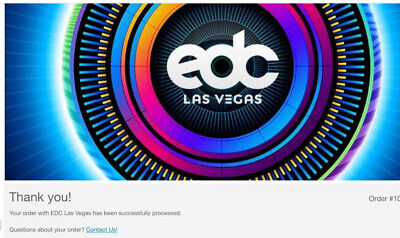 2(Two)-Las Vegas EDC VIP 2020-3Day Electric Daisy Carnival Tickets-Plans Changed