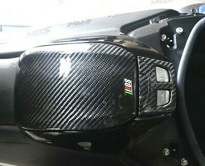 Yamaha T-Max530 (2017-2019) Fuel Tank + Control Switch Carbon Covers