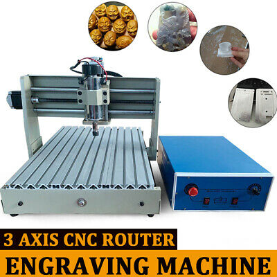Usb 3 Axis 3040 Cnc Router Engraver Engraving Mill Drilling Cutter Desktop 400W