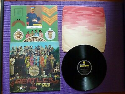 THE BEATLES 1st OZ MONO LP=SGT PEPPERS LONELY HEARTS CLUB