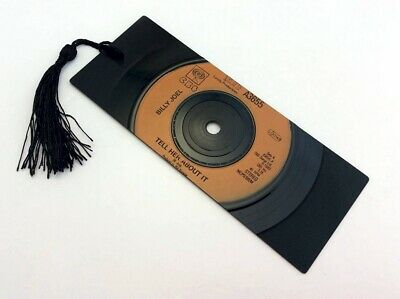 """Billy Joel, Tell her about it, 7"""" Vinyl Record Bookmark gift"""