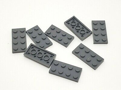 LEGO Medium Blue Plate 2x4 Lot of 100 Parts Pieces 3020