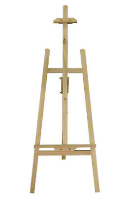 STUDIO EASEL ARTIST ART CRAFT DISPLAY EASELS PINE WOOD WOODEN For All canvas