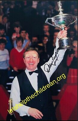 Dennis Taylor Signed Photo 12x8