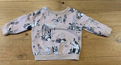 Baby Girl Animal Theme Jumper Age 9-12 Months. Next