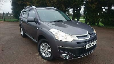 2010/10 Citroen C-Crosser 2.2HDi Diesel Automatic 4WD VTR+ with 7 Seats