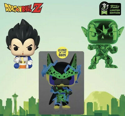 Funko ECCC 2020 Dragonball Z Bundle Shared Exclusive Preorder