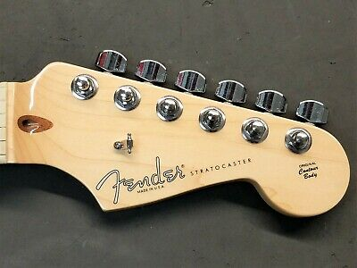 2008 Fender USA Stratocaster MAPLE NECK w/ TUNERS American Strat Electric Guitar