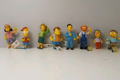 The Simpsons Series 3 Toy Figures - Springfield Elementary Figurines with Tags