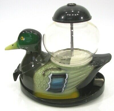 Vintage Carousel Industries Mallard Duck Candy Gumball Bubble Gum Machine