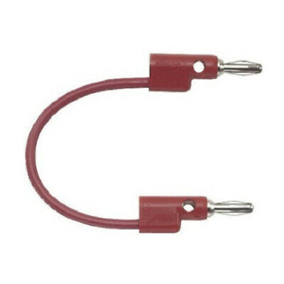 Pomona 5302-36-2 SMD Grabber Test Clip to Stacking Banana Plug Pack of 5 Red 36 Length Pomona Electronics 36 Length