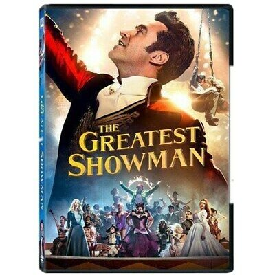 The Greatest Showman New (Dvd 2018)