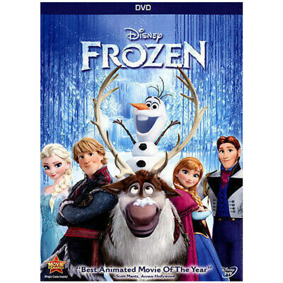 Frozen (DVD, 2014) Free Fast Shipping From USA