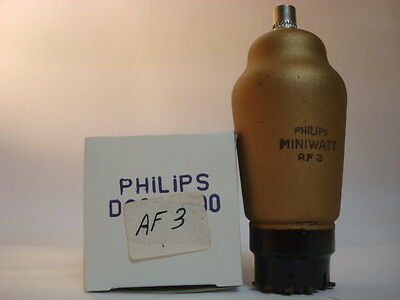 Af3 Tube. Philips Brand. Nos Tube. Rc111