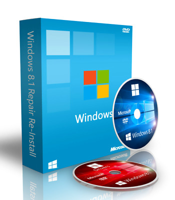 Windows 8.1 Pro Repair Recovery Disk + Drivers + ISO Download 64 bit (Spanish)