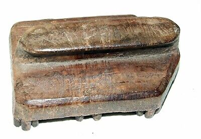 Antique Wooden Textile Printing Blocks Fabric Print Hand Carved 6