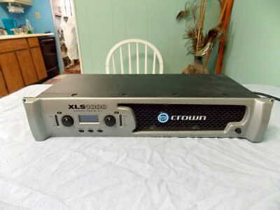 Crown XLS 1000 Stereo Power Amp