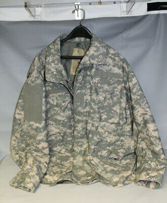 US Military Army M-65 Acu Cold Weather Field Coat Jacket Made in USA LR Large R