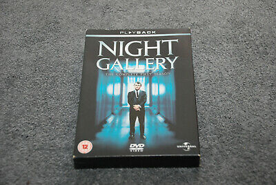 NIGHT GALLERY DVD 3 disc set - The Complete First Season