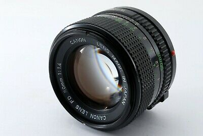 """EXC+++"" Canon New FD NFD 50mm f/1.4 MF Manual Focus Lens From Japan547681"