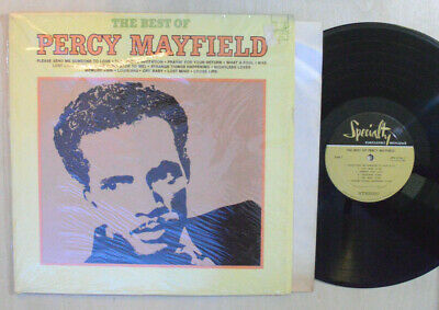 R&B BLUES LP - THE BEST OF PERCY MAYFIELD In Shrink 1970 Specialty SPS 2126 M-