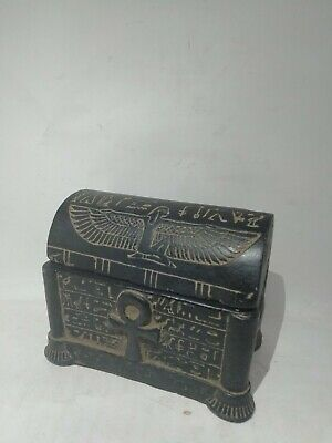 Rare Ancient Egyptian Antique Jewelry  Box 1357-1196 Bc (3)