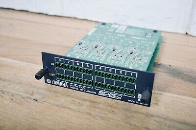 Yamaha MY8-ADDA96 I/O card for M7CL 02R96 digital mixing console mint condition