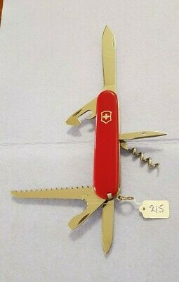 *** Camper *** Victorinox *** Original Genuine Swiss Army Knife **Free Postage**