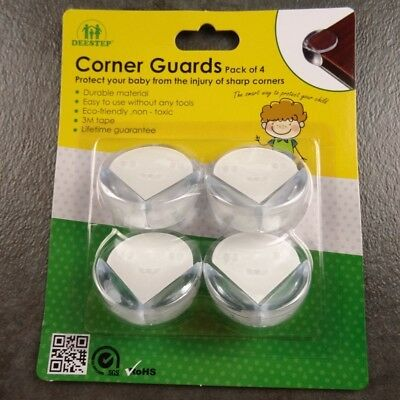 Corner Guards Child Safety Baby Protect Table Edge Cushion Non-Toxic Pack of 4