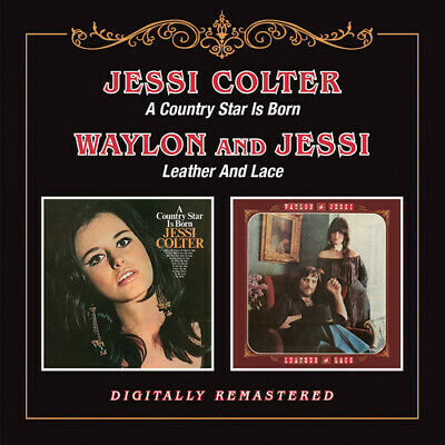 Jessi Colter - Country Star Is Born / Leather & Lace [New CD] UK - Import