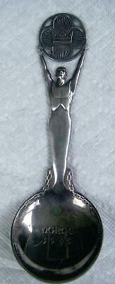 Norway Liberation Lg Silver Serving Spoon 1945 Norge  Thorvald Marthinsen