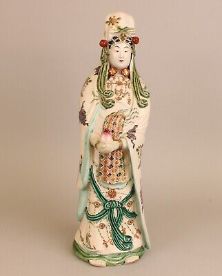 "Lovely Quality Quanyin, 19th Century Japanese Porcelain,  20"" large"