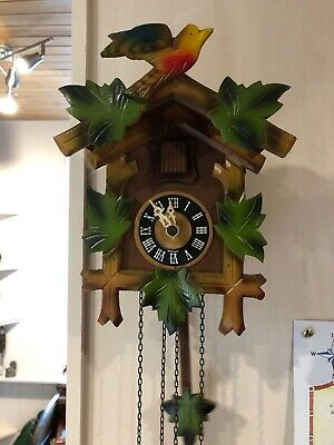 Vintage Black Forest cuckoo clock in working order