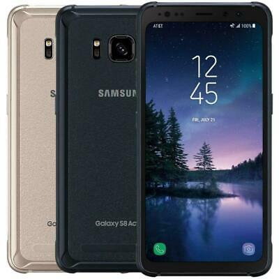 Samsung Galaxy S8 Active 64GB Factory GSM Unlocked AT&T T-Mobile - Gray or Gold