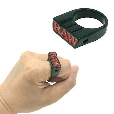 RAW Rolling Papers BLACK SMOKER RING - Limited Edition - SIZE 8-9-10-11