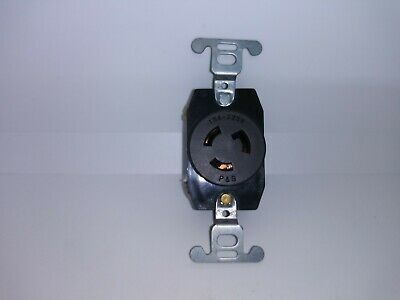 Pass & Seymour 4710 Single Turnlok Receptacle NEMA L5-15R 15 Amp 2 Pole 125V P&S