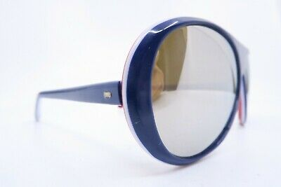 Vintage late 70s ski sports sunglasses with mirrored lenses FRANCE/1 men's M