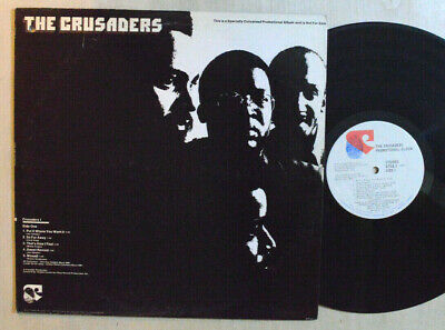 FUNK SOUL LP - THE CRUSADERS - PROMOTIONAL ALBUM 1973 Blue Thumb PROMO M-