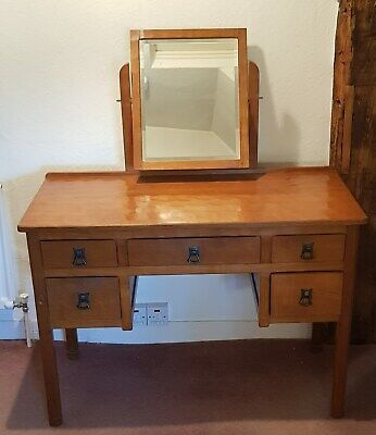 Alan 'Acornman' Grainger - Dressing Table - Arts & Crafts - Rare (A4)