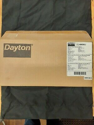 Dayton Direct Drive Blower Motor 1/4HP 1075 RPM 3 Speed