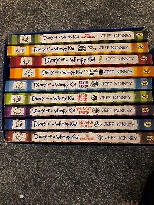 Diary of a Wimpy Kid Collection. 9 Books Boxed Set Collection. Books 1-9.