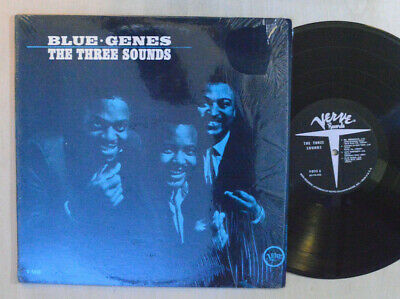 JAZZ LP - THE THREE SOUNDS - BLUE GENES In Shrink VERVE V-8513 VG++