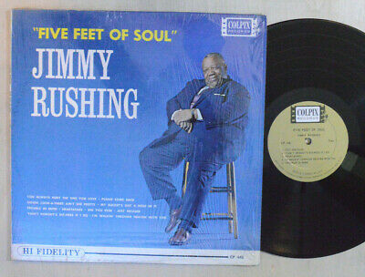 BLUES LP - JIMMY RUSHING - FIVE FEET OF SOUL In Shrink COLPIX MONO M-