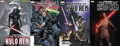 STAR WARS the RISE of KYLO REN #1 3rd #2 2nd 3 4 1st print MARVEL COMIC set 3/11