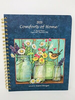 Comforts of Home |17 Month Planner - August 2019-December 2020