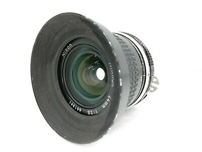 [EXCELLENT] Nikon NIKKOR 24mm f/2.8 Non-Ai Lens for F Mount From Japan