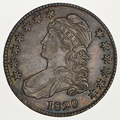 1829 Capped Bust Half Dollar - Circulated *0091