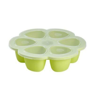 Beaba Multiportions silicone 6x90 ml neon