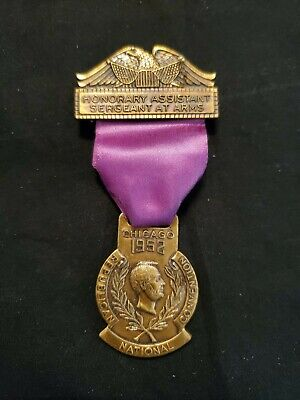 1952 Republican National Convention Honorary Assistant Sergeant at Arms Medal