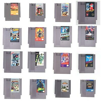 Contra,Batman & More(Authentic) (Nintendo, NES) 16 Tested/Working W/cases